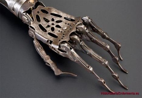mano artificial articulada