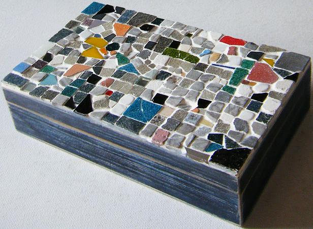 mosaico, caja