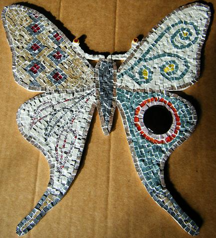 Mariposa mosaico