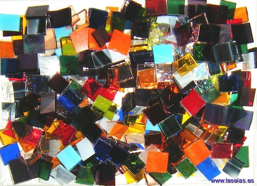 cristal, vídrio, teselas cristal, mosaico vídrio