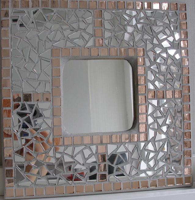 Espejo manualidades imagui for Mosaicos para espejos