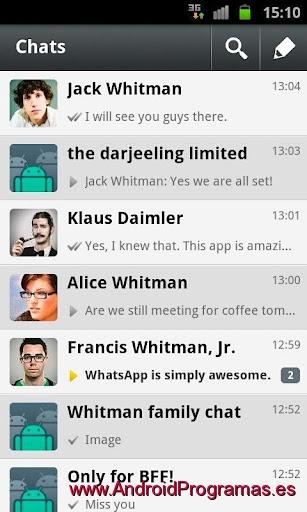 WhatsApp gratis